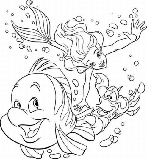 printable little mermaid coloring pages little mermaid coloring pages learn to coloring coloring little pages printable mermaid
