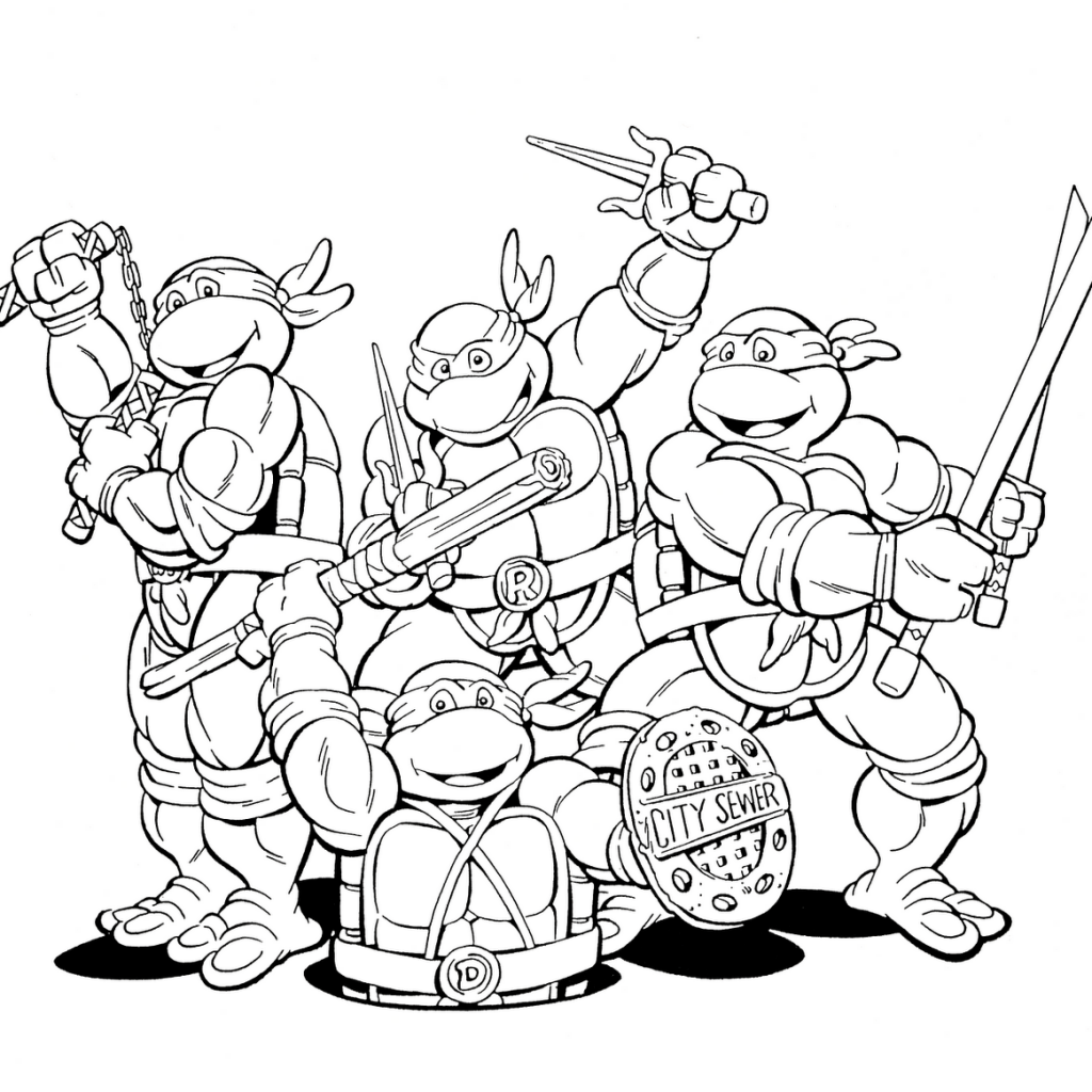 printable ninja turtle coloring pages mutant busters coloring pages coloring pages printable turtle pages coloring ninja
