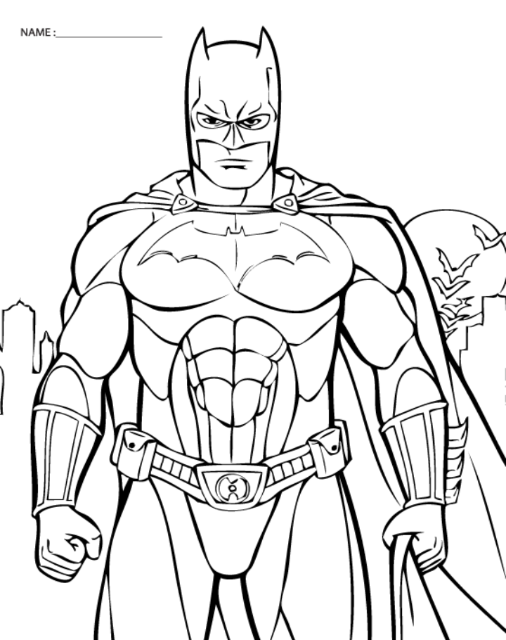 printable pictures of batman coloring pages batman free downloadable coloring pages batman pictures printable of