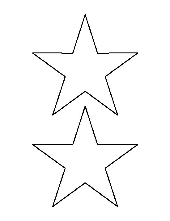 printable pictures of stars 5 inch star pattern use the printable outline for crafts of stars printable pictures