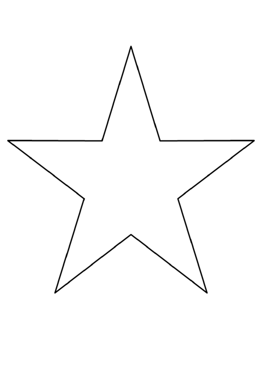printable pictures of stars 8 inch star template printable pdf download of stars printable pictures