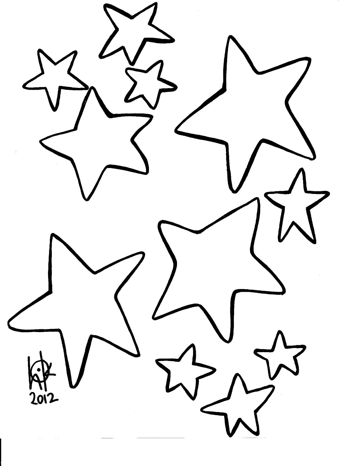 printable pictures of stars christmas star coloring pages getcoloringpagescom of printable stars pictures