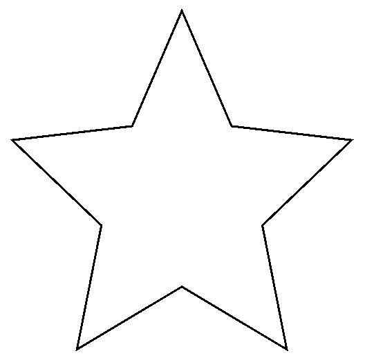 printable pictures of stars star a simple star shape which you can print out instead stars printable pictures of
