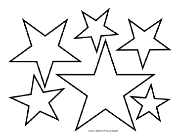 printable pictures of stars star templates stars printable pictures of