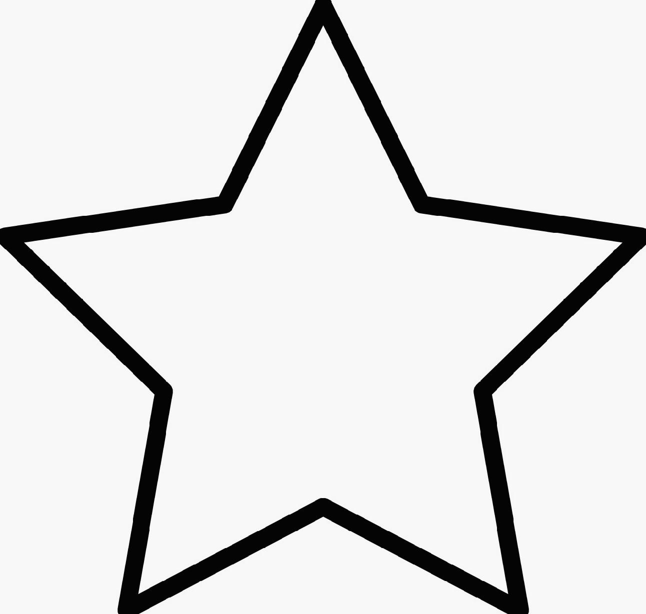 printable pictures of stars vocabularypart of body and shapes printable pictures of stars