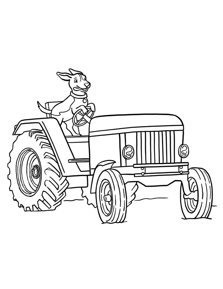 printable pictures of tractors free tractor coloring pages printable transportation printable tractors pictures of