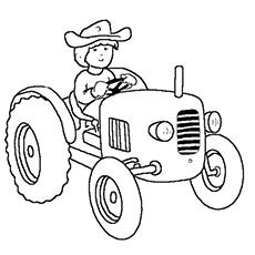 printable pictures of tractors tractor coloring pages getcoloringpagescom pictures printable of tractors