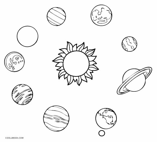 printable solar system coloring pages free printable solar system coloring pages for kids pages coloring system printable solar