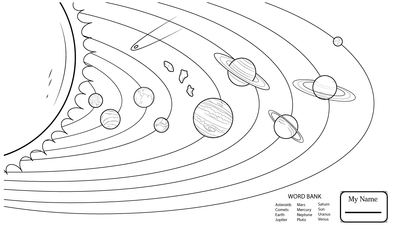 printable solar system coloring pages printable solar system coloring pages printable pages solar coloring system