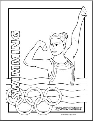 printable summer olympics coloring pages clip art summer olympics event illustrations olympics printable summer pages coloring