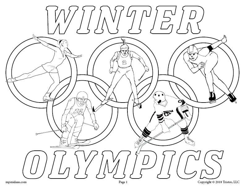 printable summer olympics coloring pages free printable winter olympics coloring page supplyme olympics pages printable summer coloring
