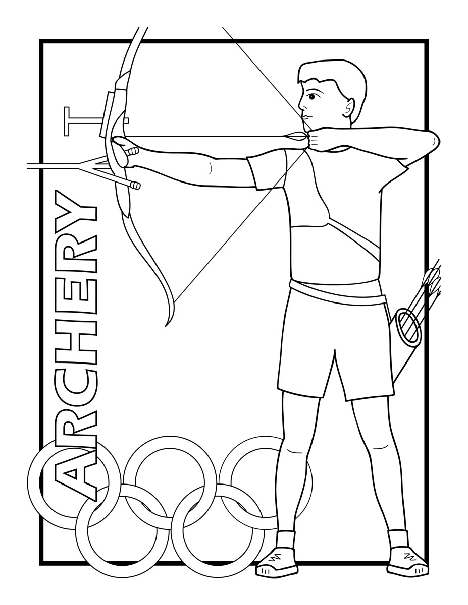 printable summer olympics coloring pages gymnastics coloring page coloring summer pages olympics printable