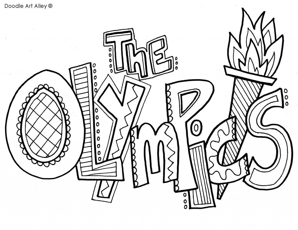 printable summer olympics coloring pages summer olympic sports coloring pages getcoloringpagescom summer printable coloring pages olympics