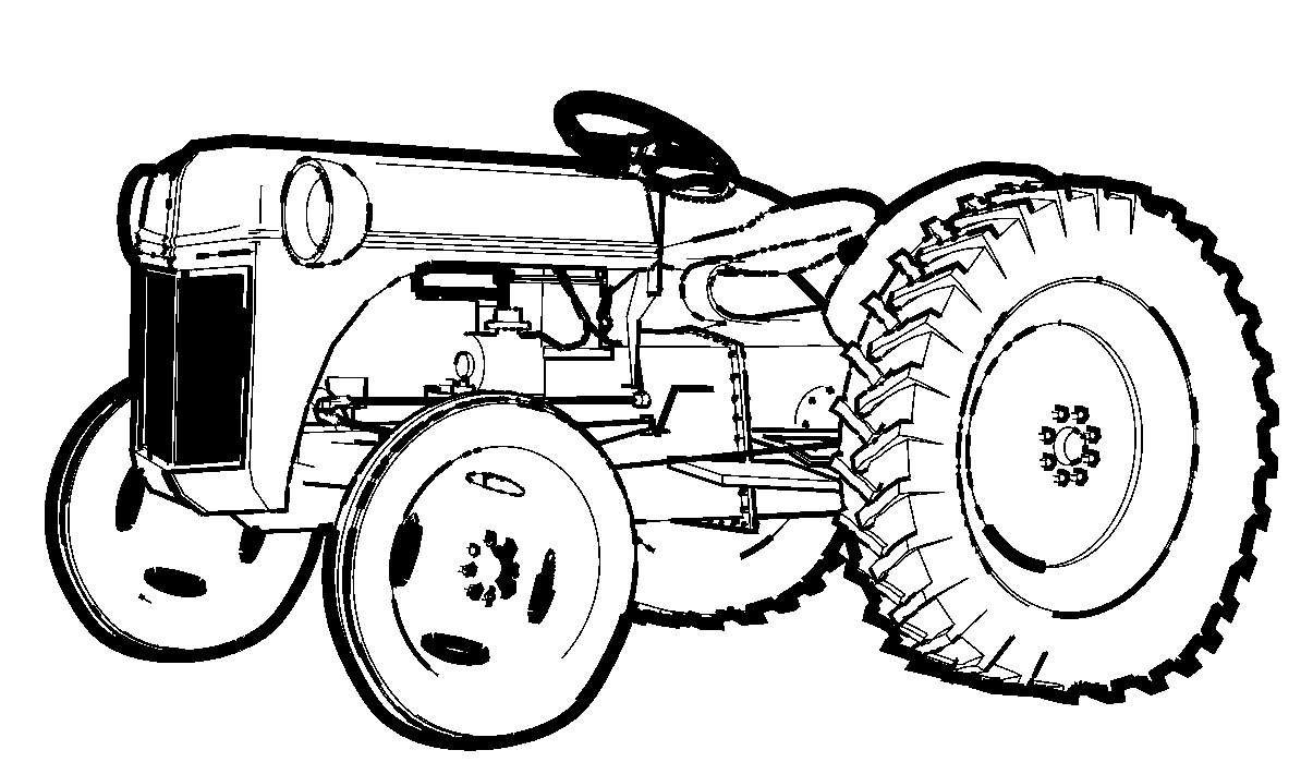 printable tractor coloring pages tractor coloring pages getcoloringpagescom pages tractor printable coloring