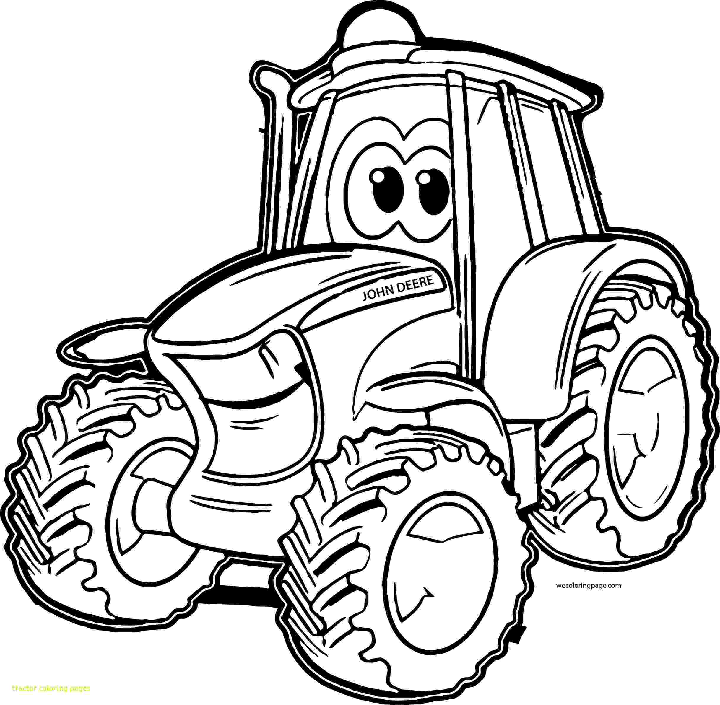printable tractor coloring pages tractor drawing for kids at getdrawingscom free for pages coloring tractor printable