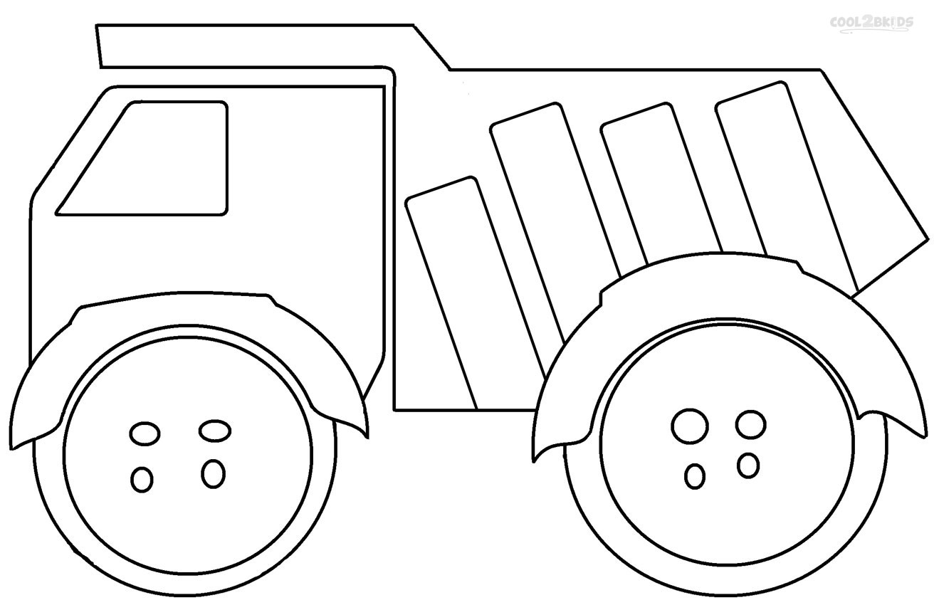 printable truck coloring pages butterflies and flowers coloring page free printable truck pages coloring printable