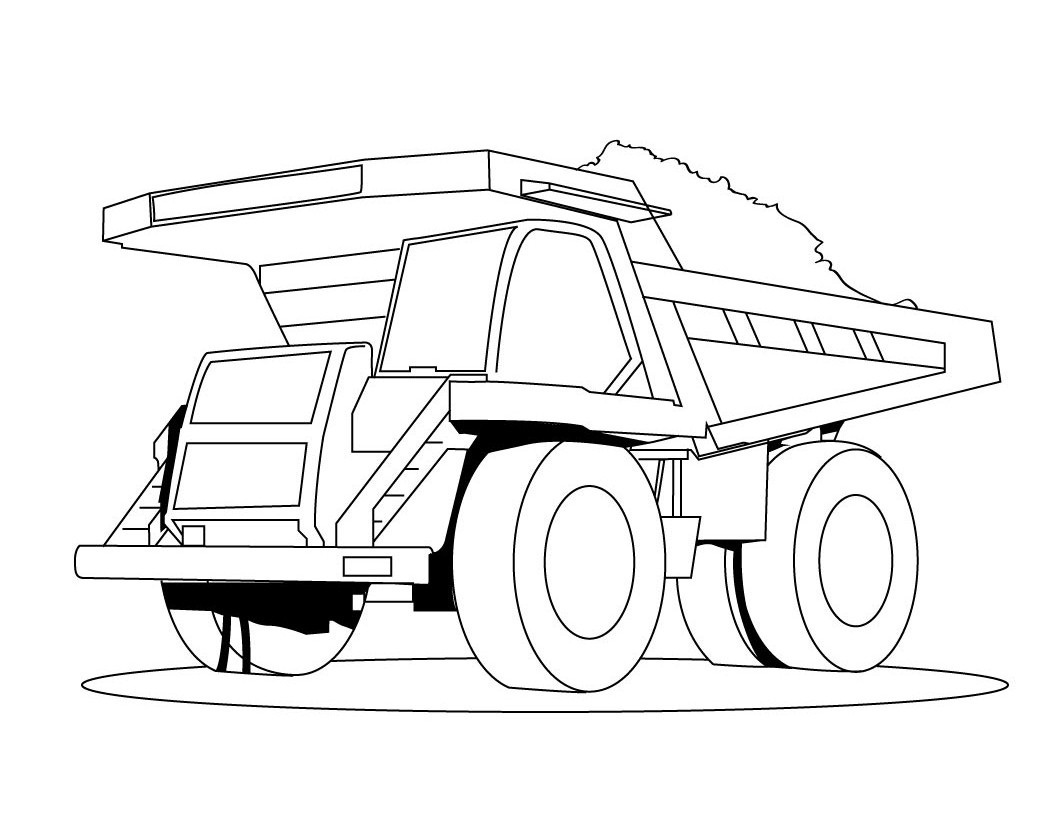printable truck coloring pages drawing mixer truck coloring page youtube coloring pages truck printable