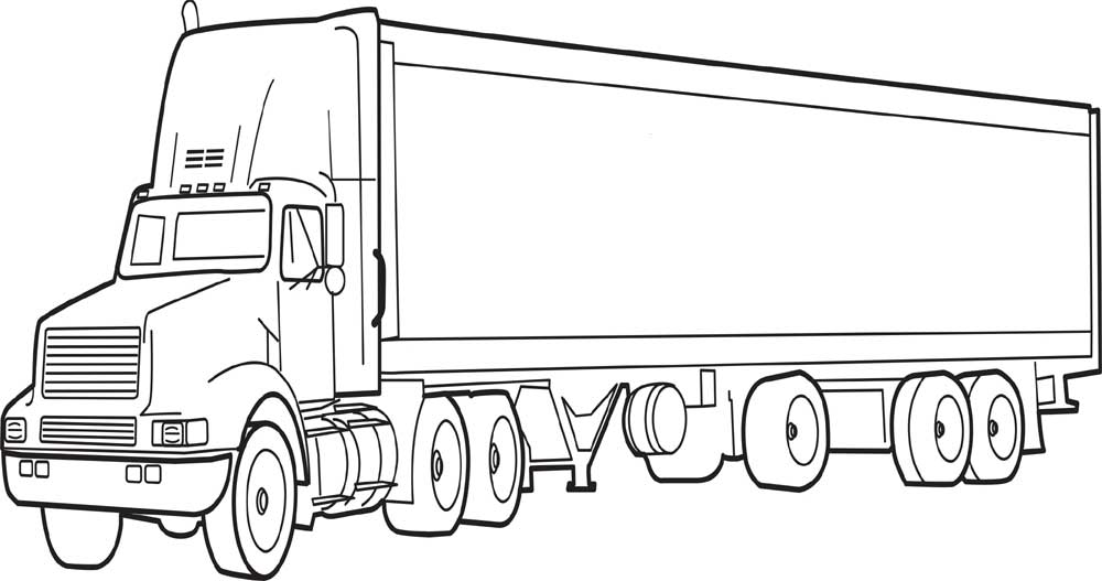 printable truck coloring pages log truck coloring page free printable coloring pages printable pages truck coloring