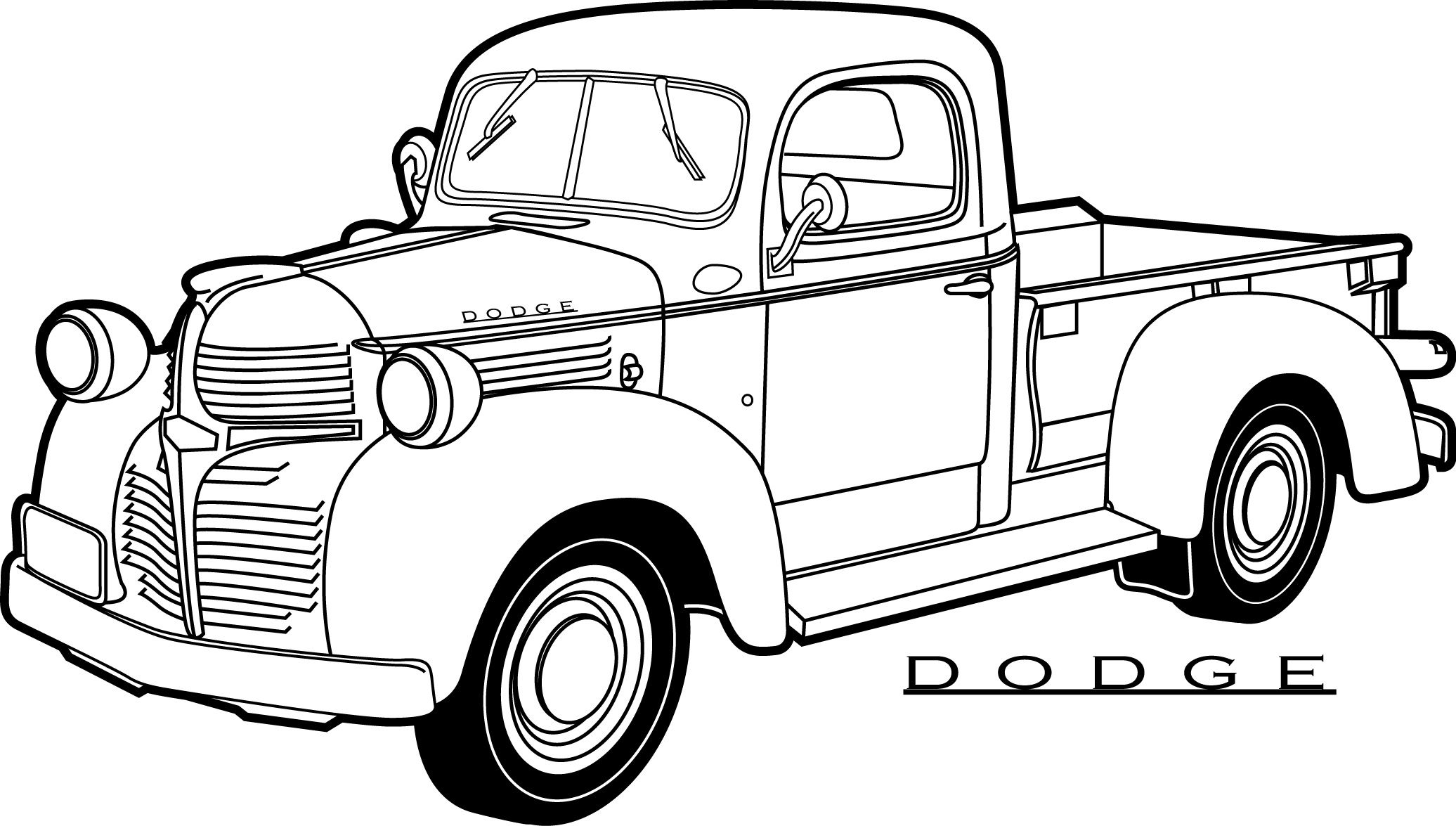 printable truck coloring pages pickup truck coloring page free pickup truck online truck printable coloring pages