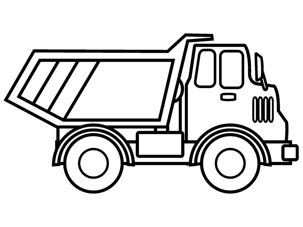 printable truck coloring pages printable dump truck coloring pages for kids cool2bkids coloring truck printable pages