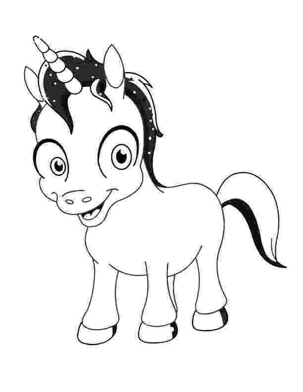 printable unicorn unicorn horse with rainbow coloring page for kids unicorn printable