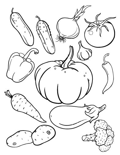 printable vegetable coloring pages vegetable coloring pages for childrens printable for free vegetable pages printable coloring