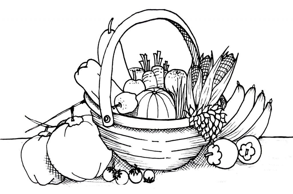 printable vegetable coloring pages vegetables drawings free download best vegetables coloring vegetable printable pages