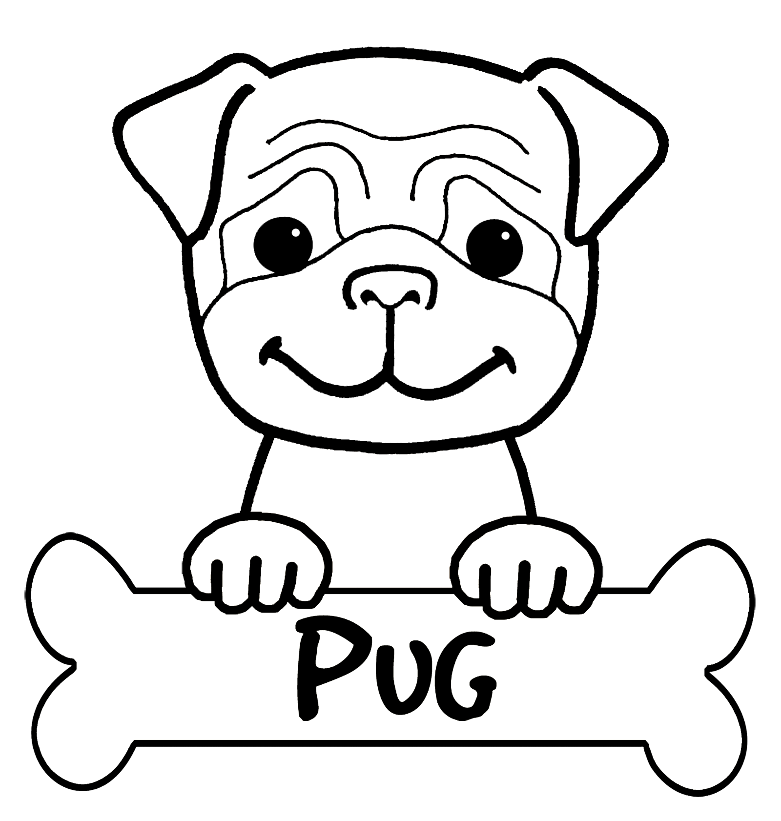 pug coloring pages art of pug coloring book volume no 1 physical book coloring pages pug