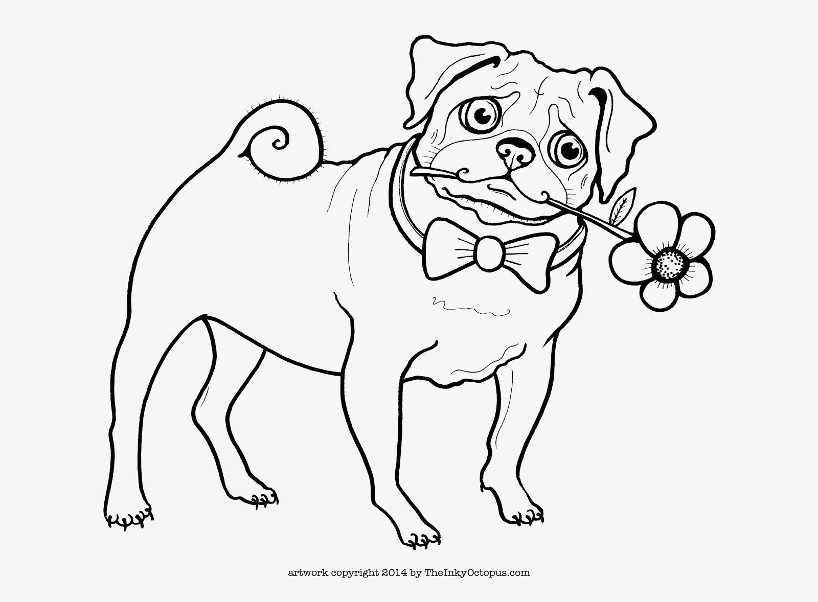 pug coloring pages printable pug coloring pages coloring home pages pug coloring
