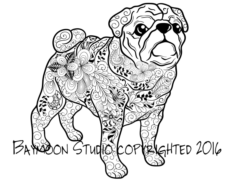 pug coloring pages pug coloring pages best coloring pages for kids pages pug coloring