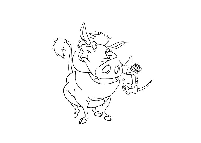 pumba coloring lion king coloring pages coloring pages coloring pumba
