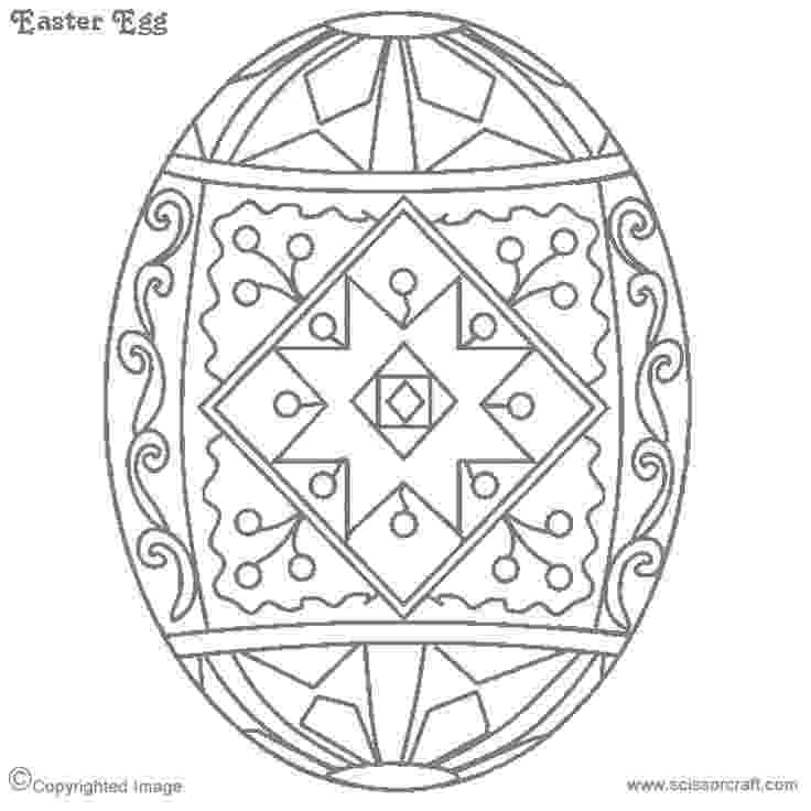 pysanky egg coloring pages httpwwwpapereggscompysankyhtm doodlesadult pysanky coloring egg pages