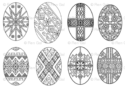 pysanky egg coloring pages pysanky egg coloring pages at getcoloringscom free pysanky egg coloring pages