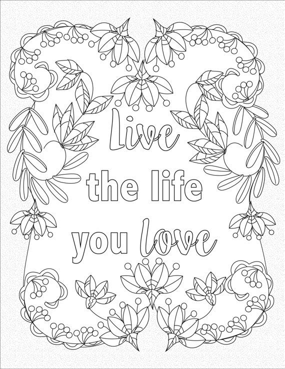 quotes about life coloring pages life quotes coloring pages printable quotesgram pages coloring about quotes life