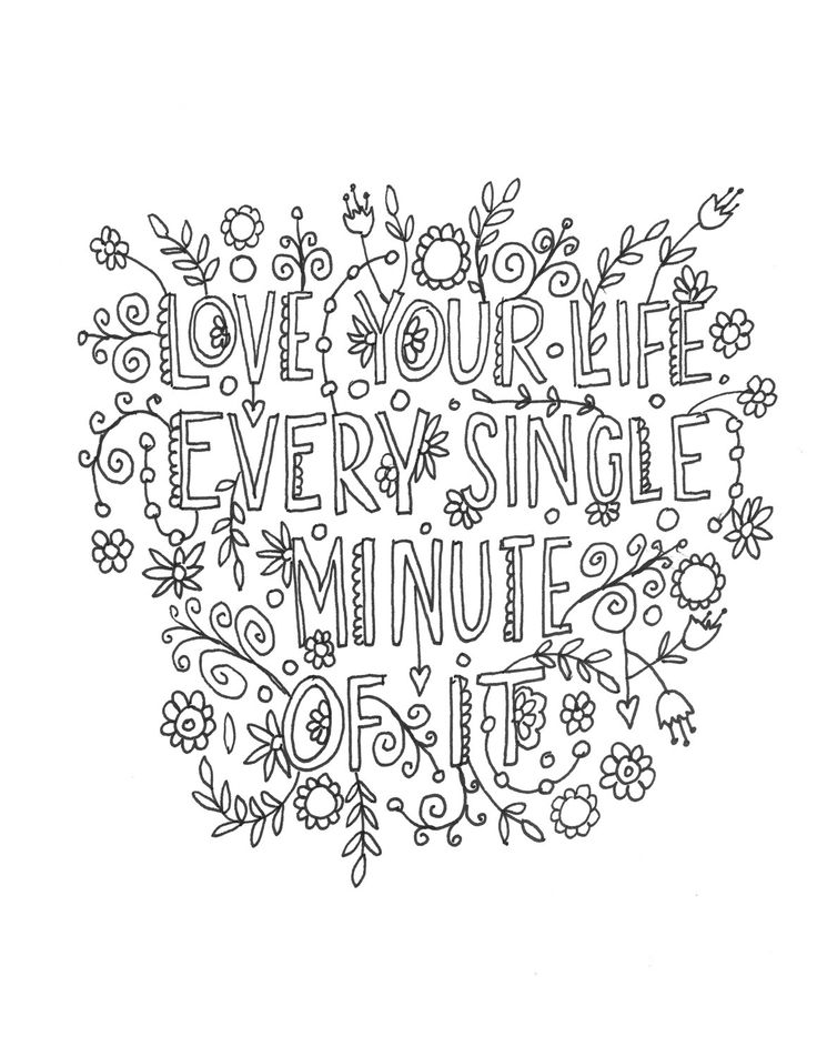 quotes about life coloring pages life quotes coloring pages printable quotesgram pages life quotes coloring about