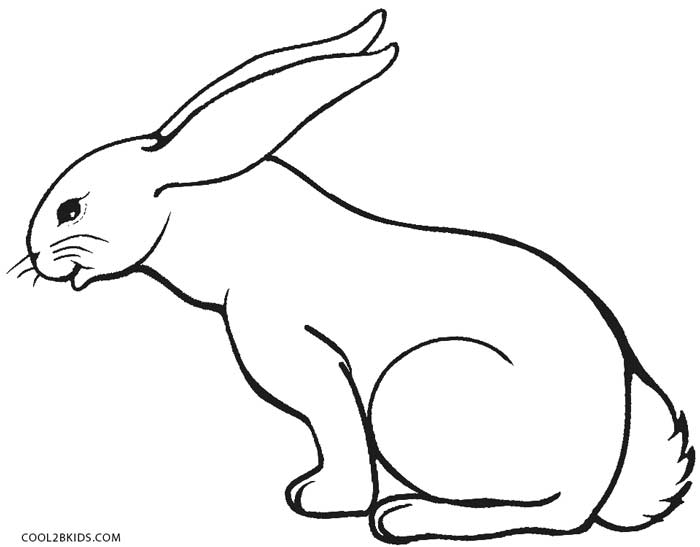 rabbit color page 60 rabbit shape templates and crafts colouring pages page color rabbit