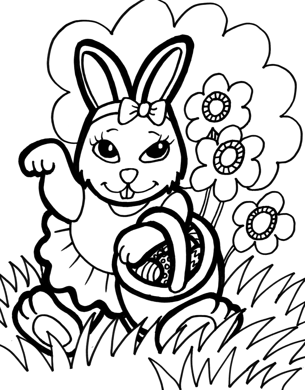 rabbit color pages free printable rabbit coloring pages for kids color pages rabbit 1 2