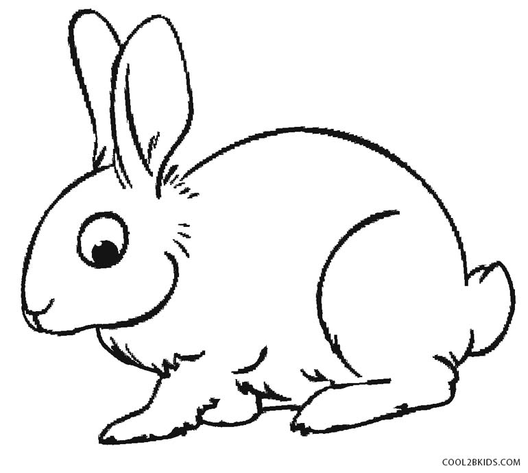 rabbit picture for colouring get this baby bunny coloring pages for toddlers 68031 rabbit for colouring picture