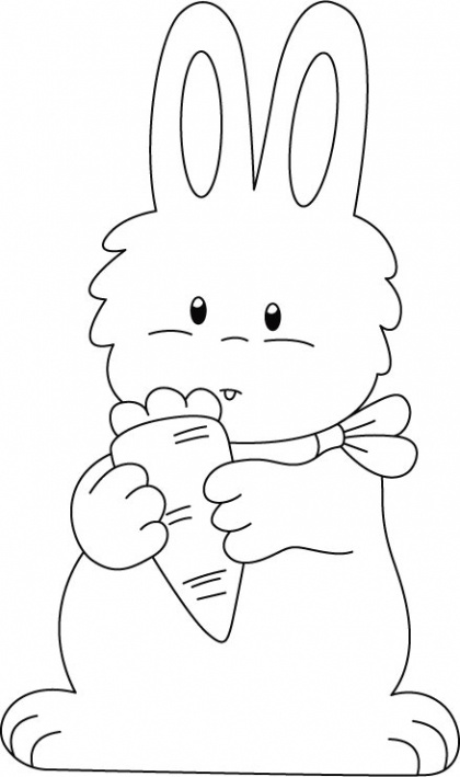 rabbit pictures for kids free printable rabbit coloring pages for kids kids for pictures rabbit 1 1