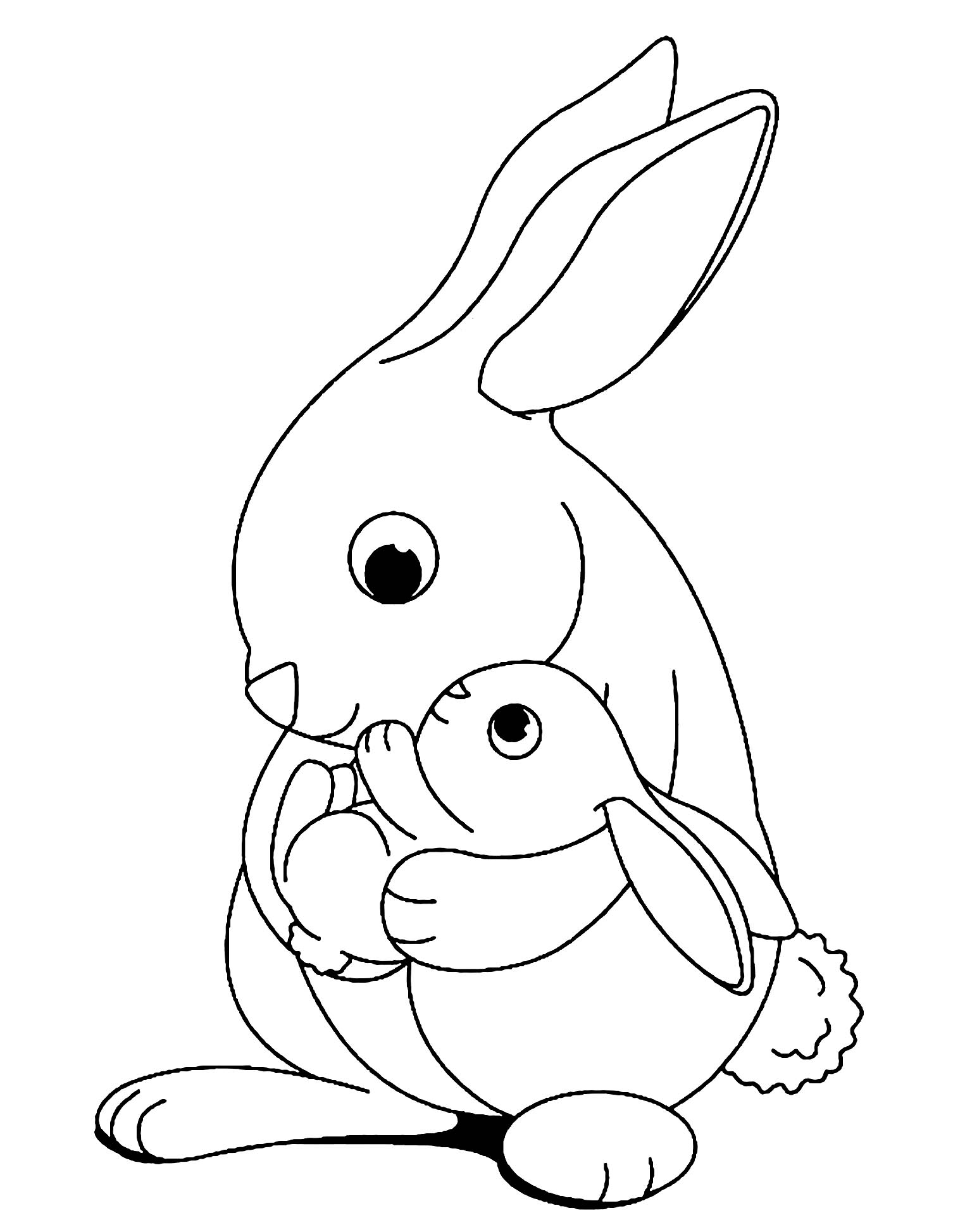 rabbit pictures for kids little rabbit for little children coloring pages fullsize rabbit for kids pictures