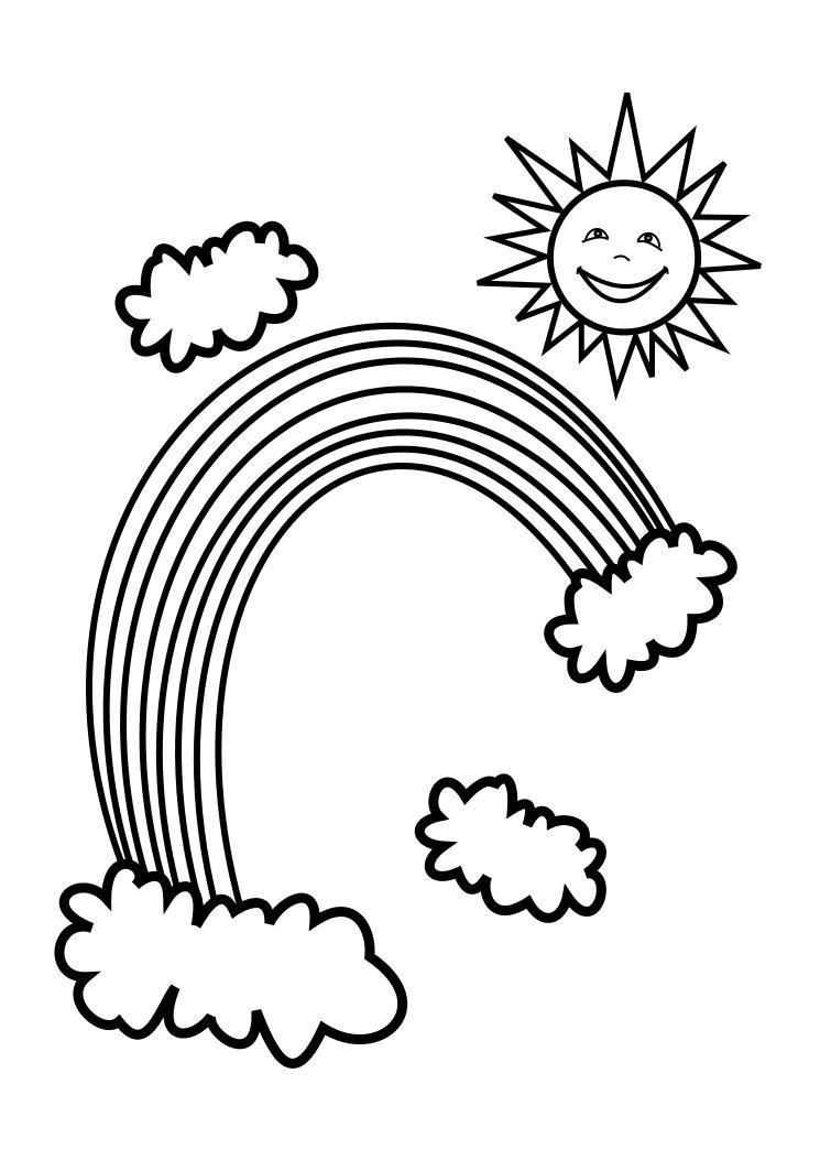 rainbow coloring page free printable rainbow coloring pages for kids coloring page rainbow