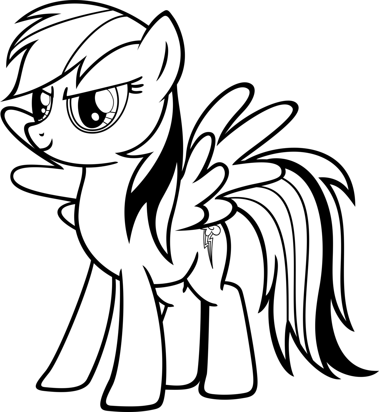 rainbow dash colouring pages my little pony rainbow dash coloring pages dash pages colouring rainbow