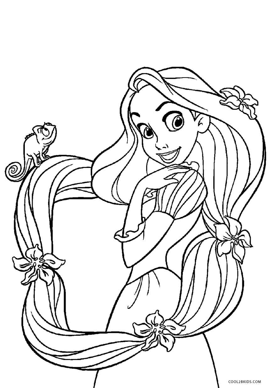 rapunzel images for coloring free printable tangled coloring pages for kids cool2bkids rapunzel for coloring images