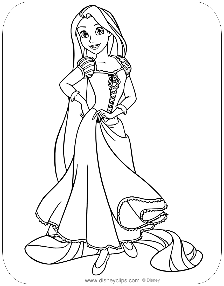 rapunzel print out 153 best images about tangled colouring pages on pinterest out rapunzel print