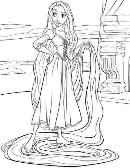 rapunzel print out its tangled ranpunzel coloring pages print color craft out rapunzel print
