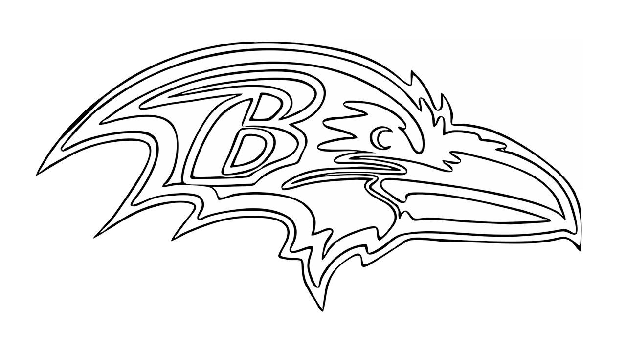 ravens coloring pages baltimore ravens coloring page coloring home ravens pages coloring