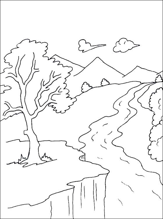 river coloring pages river coloring page coloring pages with images pages river coloring