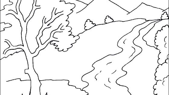 river coloring pages water coloring pages for kids coloring home coloring river pages