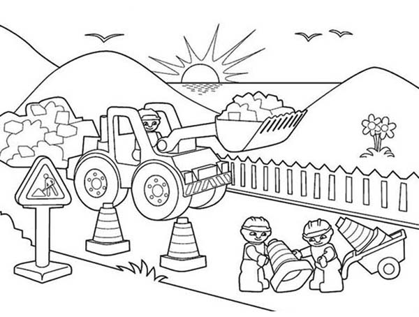 road coloring page fourpencil page 3 fourcoloring page road coloring