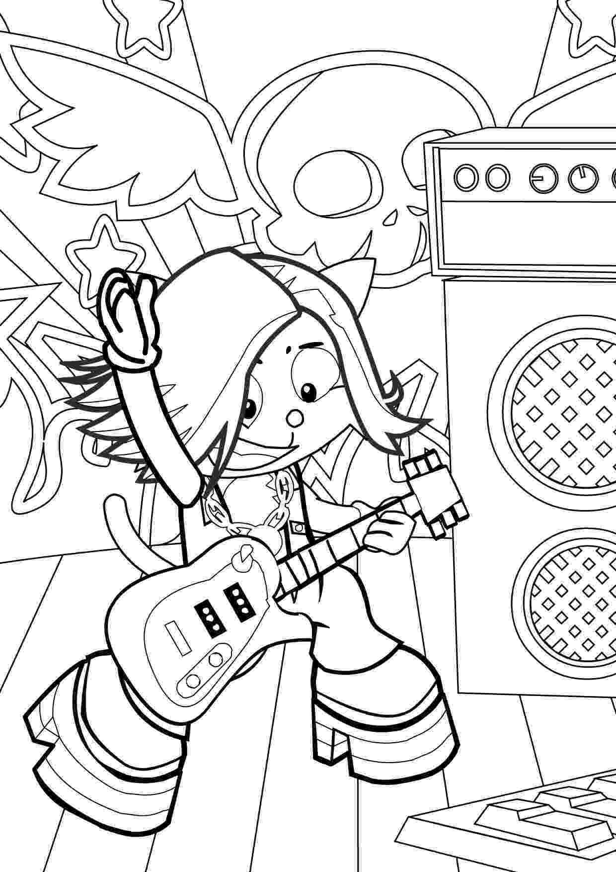 rock star coloring pages polly pocket coloring pages sketch coloring page pages star rock coloring